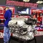 Motore elaborato per le competizioni