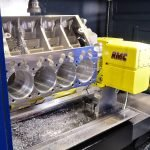 CNC machining centers for engine blocks of RMC