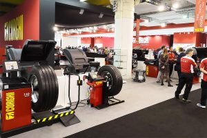 The stand Corghi at Autopromotec 2019
