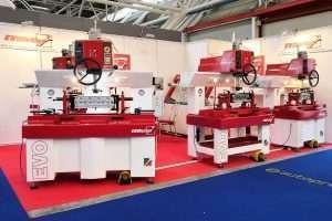 The Evomaq exhibition of valve seat grinding machine