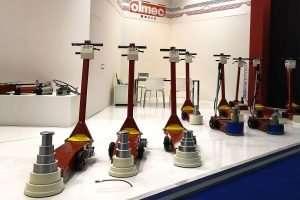 The exhibition of Olmec jacks at Autopromotec 2019