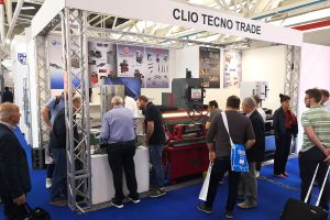 The stand of Clio Tecno Trade at Autopromotec 2019