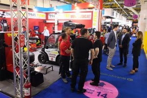 Several employees of the automotive sector in Autopromotec 2019