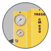 Trego GM600 - Pressure control gauges