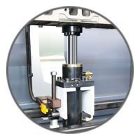 Carmec VGP 1200 - Lower hydraulic piston